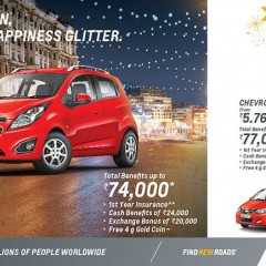 Chevrolet launches exciting offers on complete product range