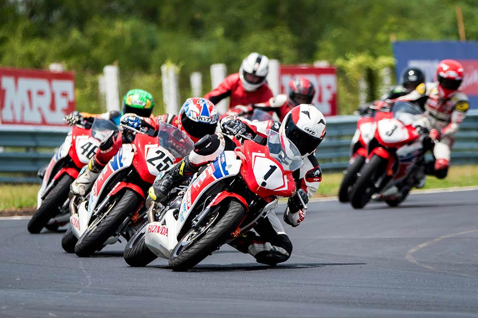 Honda Racers in Action
