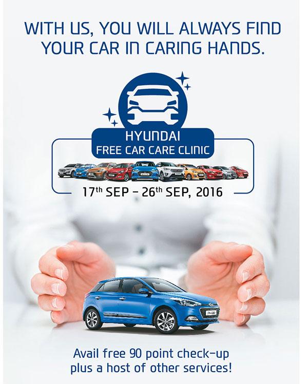 Hyundai Free Car Care Clinic`
