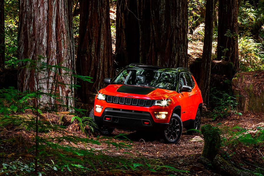 New Jeep Compass Front Photo