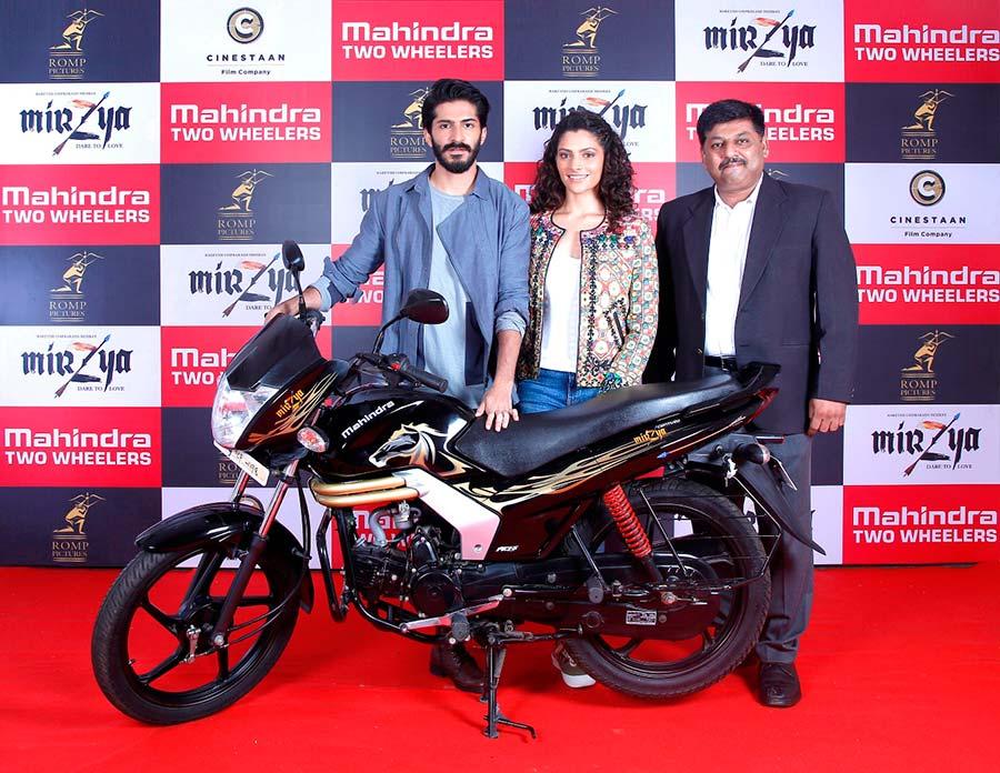 Mahindra Mirzya Special Edition Bike launch