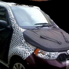 Mahindra Electric's First 4-door Mahindra e2o Spotted Testing