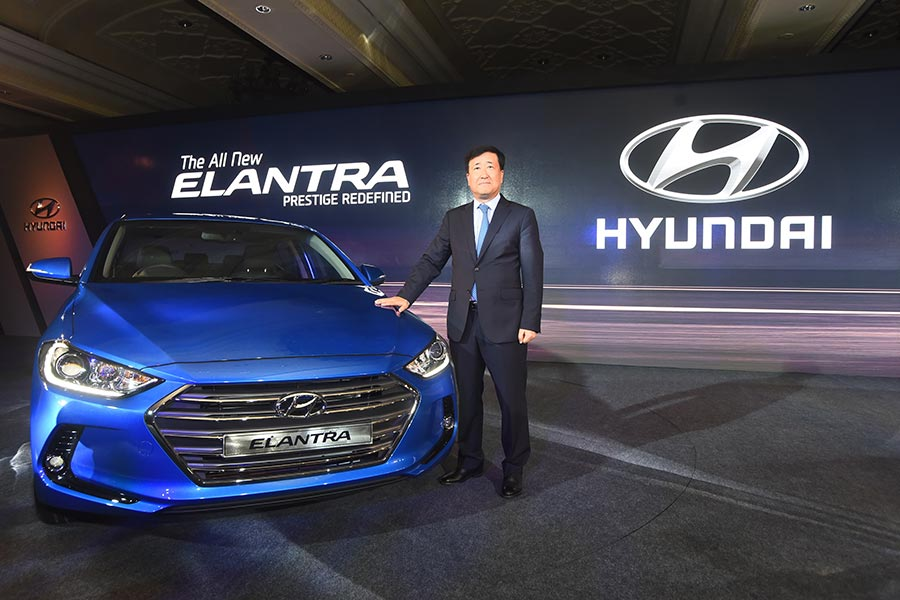 New Elantra from Hyundai