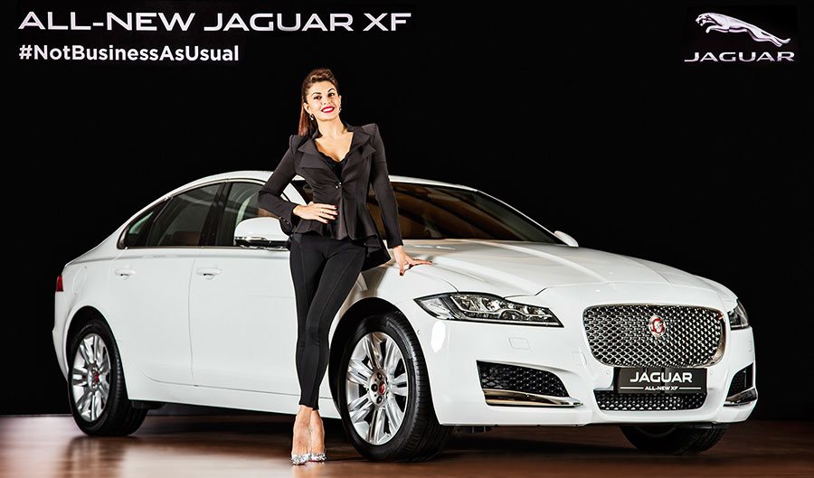 New Jaguar XF Launch Photo