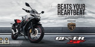 Suzuki launches Gixxer SP and Gixxer SF SP at INR 85,867 and 94,394