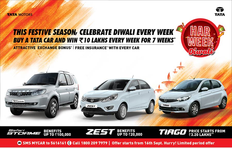 Tata Motors Festive Offer Diwali