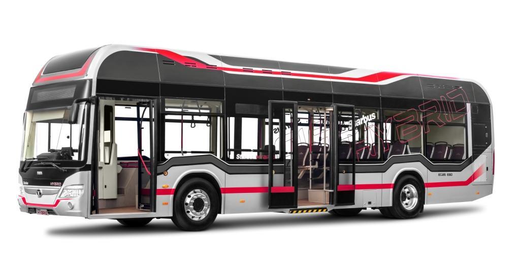 Tata Motors Starbus Hybrid Bus