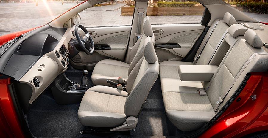 New Toyota Etios Platinum Interiors