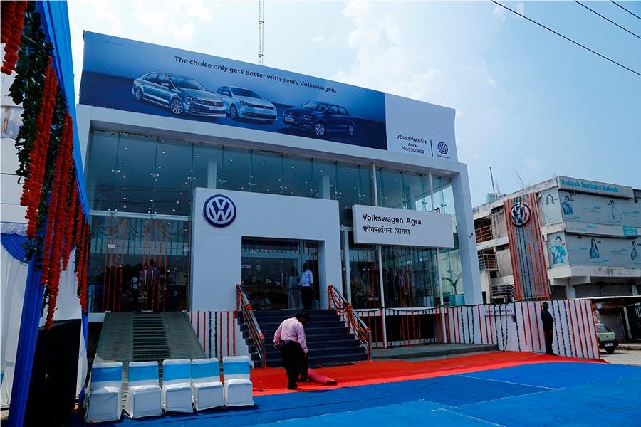 Volkswagen Agra Dealership Launch