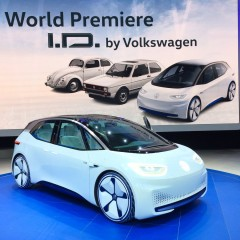 "Highly Automated Electric Car ""Volkswagen ID"" unveiled at Paris Motor Show"