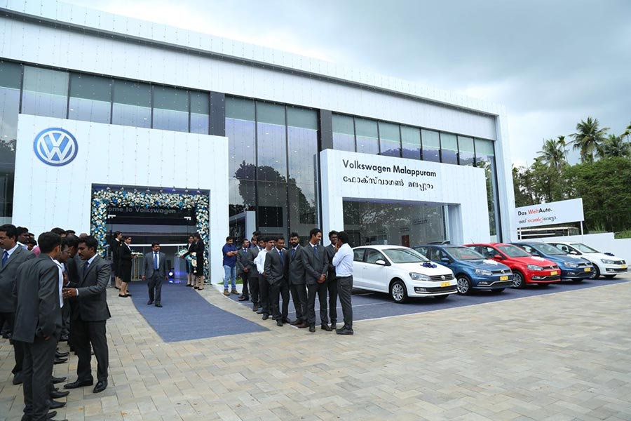 Volkswagen Inaugurates New Dealership In Malappuram Kerala Gaadikey