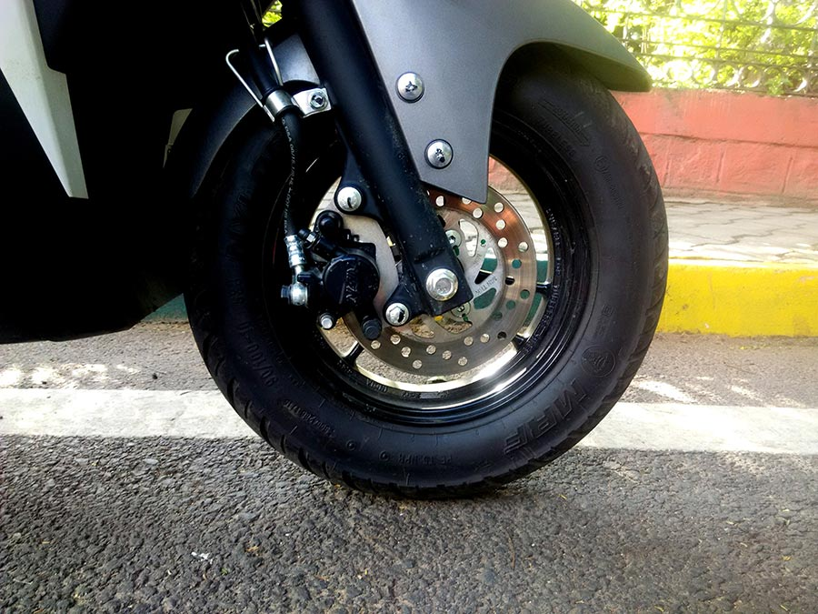 Yamaha Ray-ZR Disc Brake