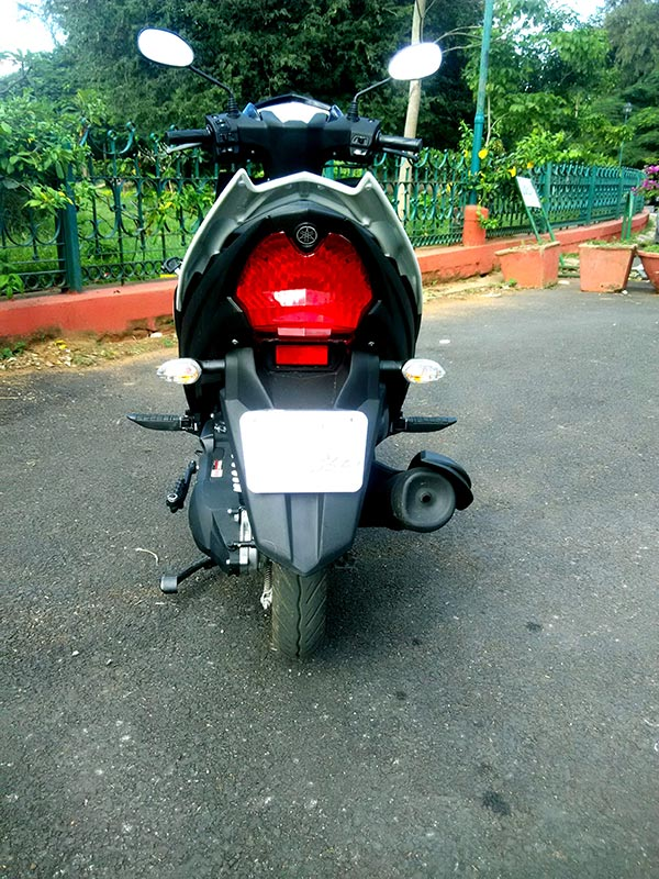 Yamaha RayZR Tail lamps