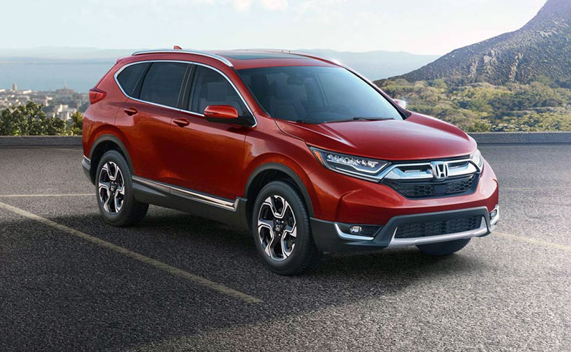 2017 Honda CR-V unveiled