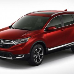 2017 Honda CR-V 5th Generation Unveiled