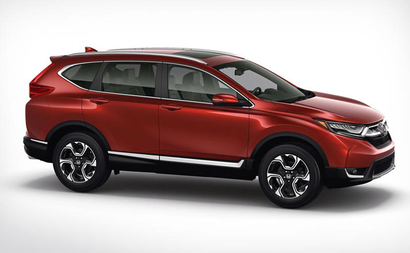 5th generation Honda CR-V Photos