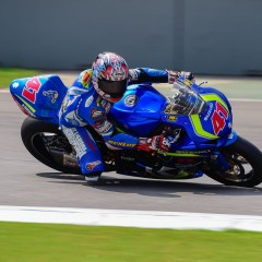 Suzuki Gixxer Cup celebrates Hayabusa Parade with Kagayama (Legendary rider) at BIC