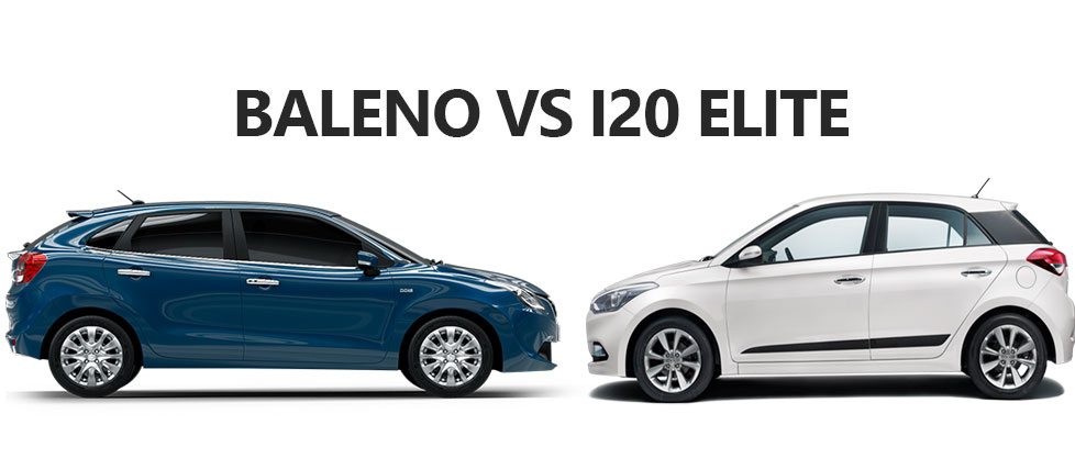 Maruti Baleno vs Elite i20 Comparison Specifications