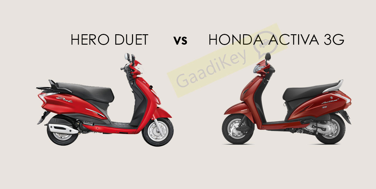 Hero Duet vs Honda Activa 3G
