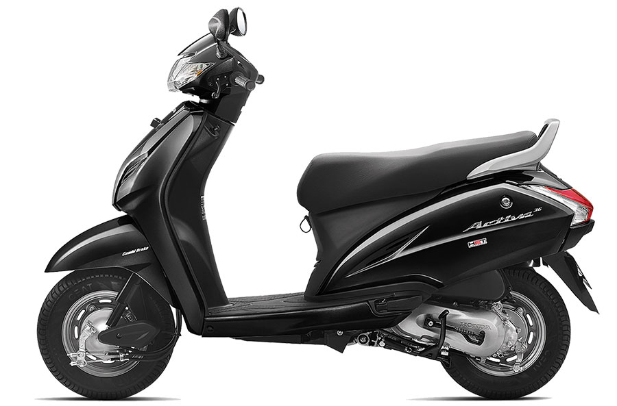 Honda Activa 3G in Black Color, Activa 3G Black Color Photo, Honda Activa Black Color Photo