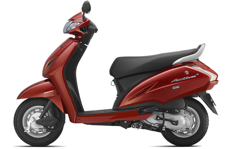 Honda Activa 3G Imperial Red Color | Honda Activa 3G Lusty Red Color | Honda Activa 3G Red Color | Honda Activa Red Color