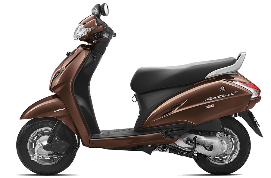 Honda Activa 3G Majestic Brown Color | Honda Activa 3G Brown Color | Honda Activa Majestic Brown Colour Option