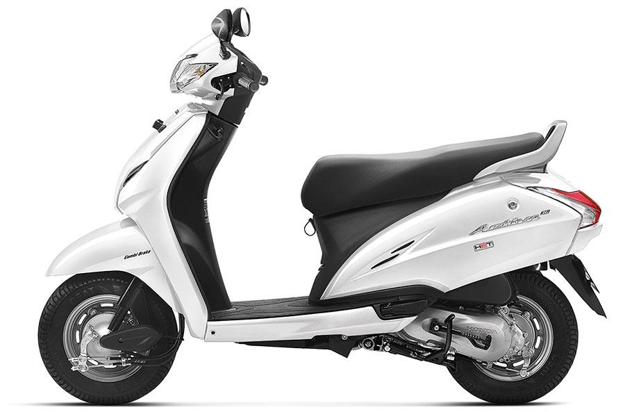 Honda Activa 3G Pearl Amazing White Color, Honda Activa 3G Pearl White Color, Honda Activa 3G White Color Photo | Activa Pearl White Color