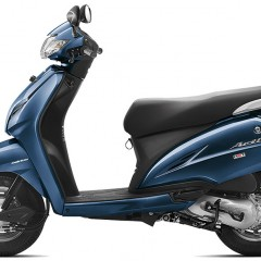 Honda Activa 3G Colors: Brown, White, Grey, Blue, Red, Black