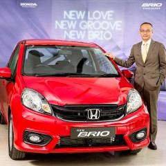 2016 Honda Brio Facelift launched in India at INR 4.69 lakhs