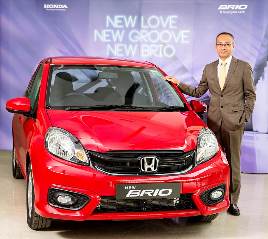 2016 Honda Brio Facelift Launch Photos in India