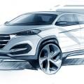 Hyundai Tucson Exterior Design Revealed