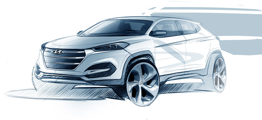 Hyundai Tucson Exterior Design Revealed