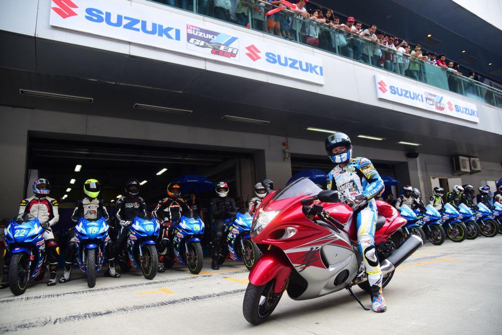 Kagayama Suzuki Gixxer Cup BIC