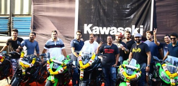 Kawasaki Delivers 13 Motorcycles to customers cheated by Dealership