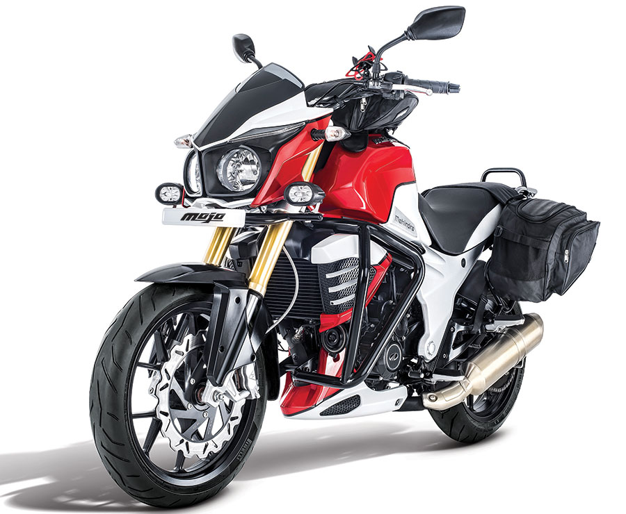 Mahindra Mojo Tourer Edition Launch