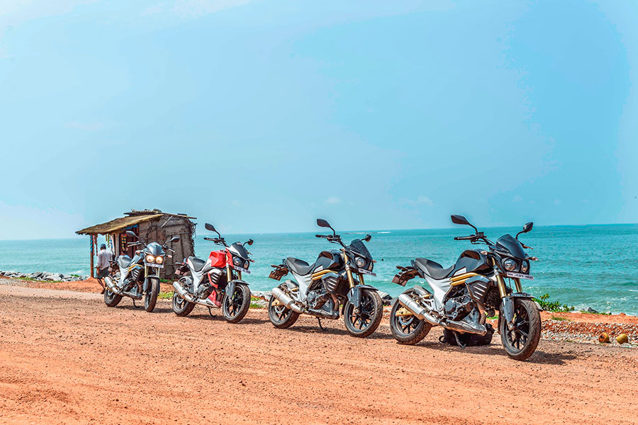 Mahindra Mojo Coastal Trail Photos
