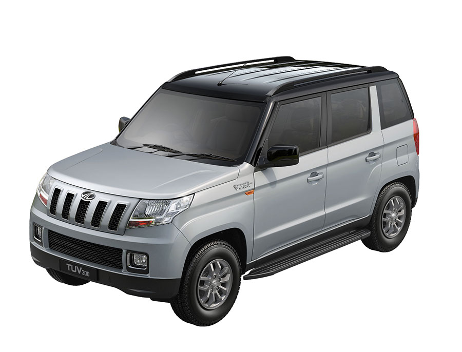 Mahindra TUV300 Dual Colors