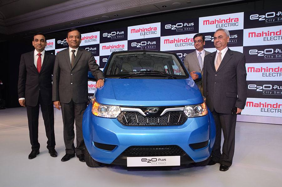 Mahindra e2o Plus Launch
