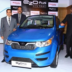 e2oPlus marks Mahindra's Entry into Electric Hatchback Segment
