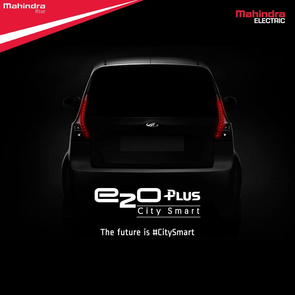 Mahindra e2oPlus City Smart