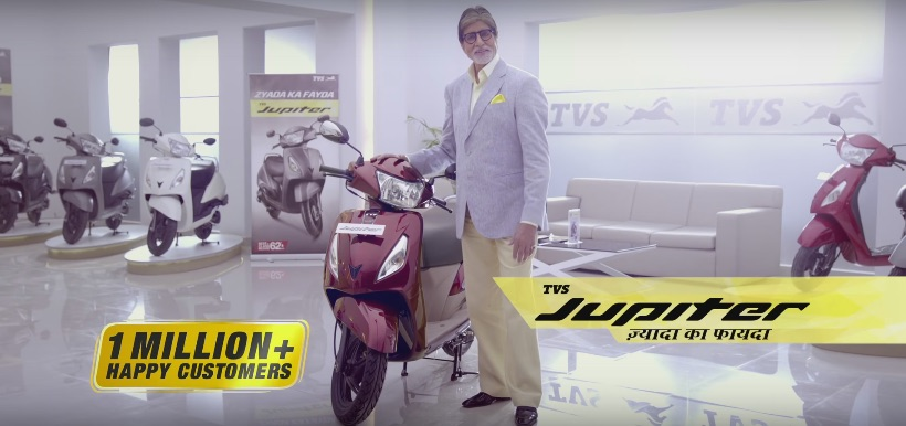 2016 TVS Jupiter Commercial Launch