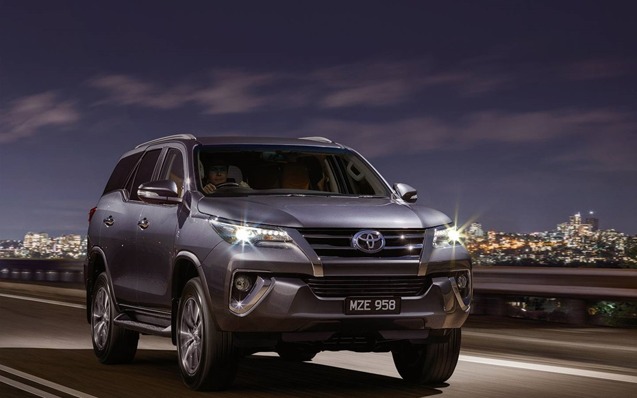2016 New Toyota Fortuner Photo