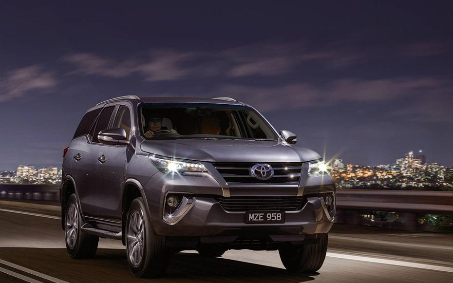 2016 New Toyota Fortuner Photo