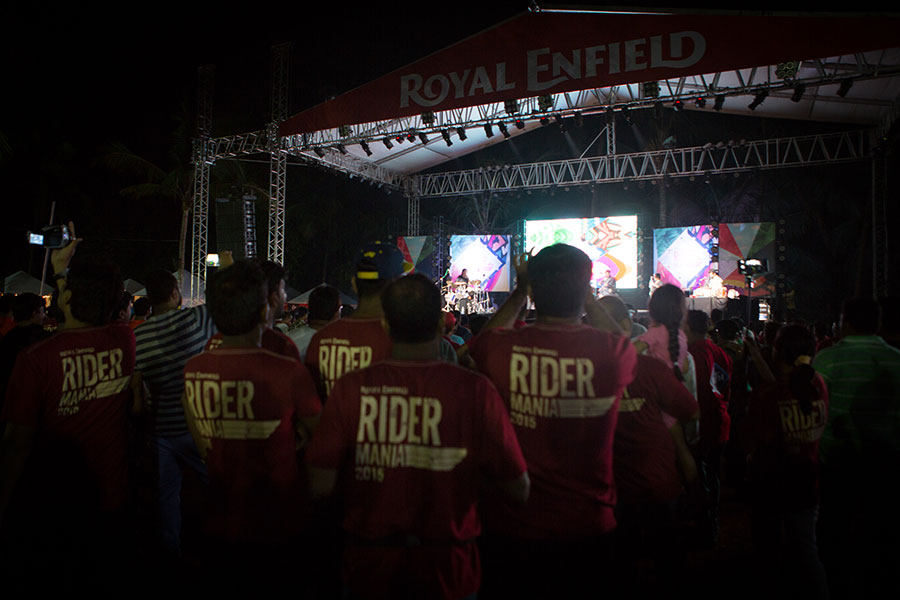 Royal Enfield Rider Mania 2015 Pictures