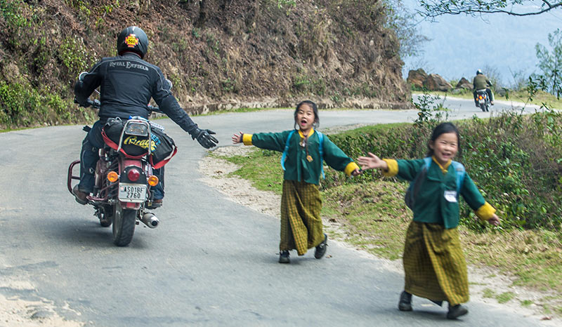 Royal Enfield Bhutan Tour
