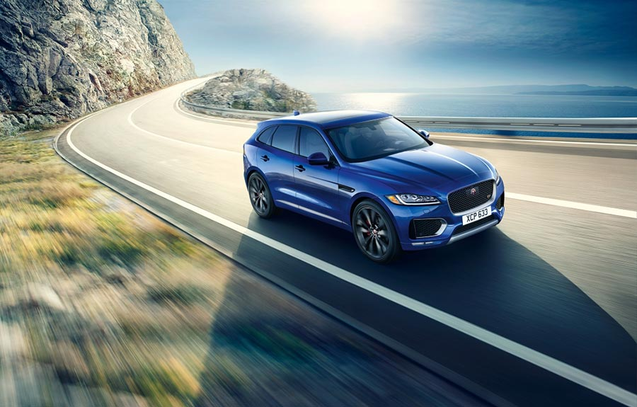 New Jaguar F-Pace launch in India