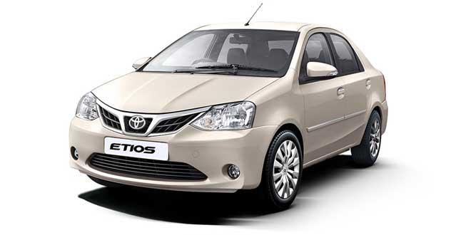 Toyota Etios Beige Color