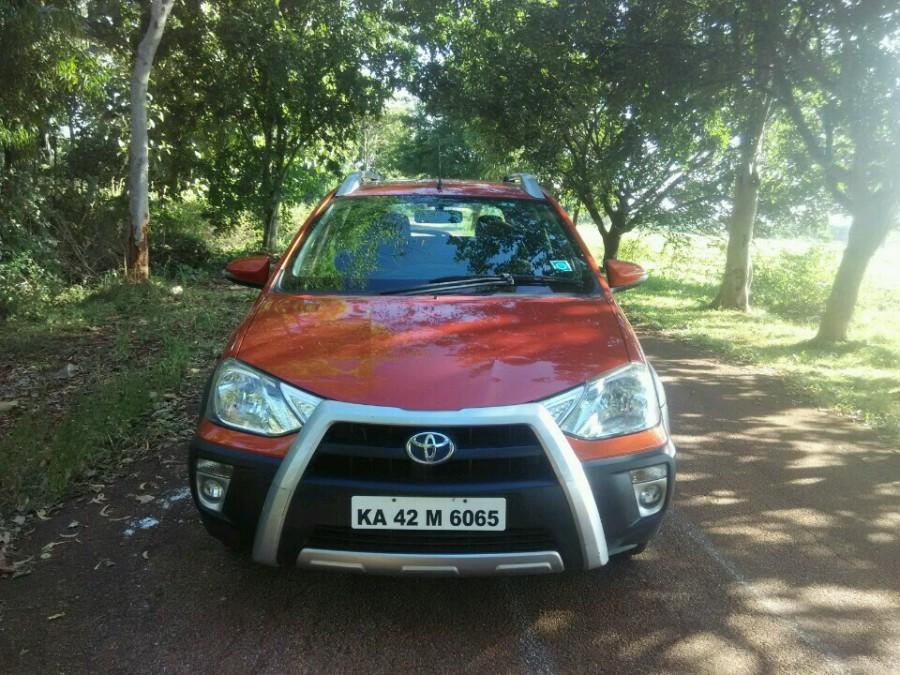 Toyota Etios Cross Front View