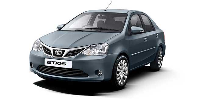 Toyota Etios Classic Grey Color