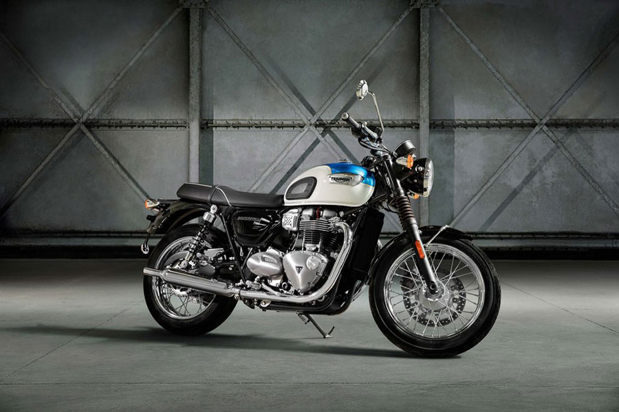Triumph Bonnevelli T100 launch